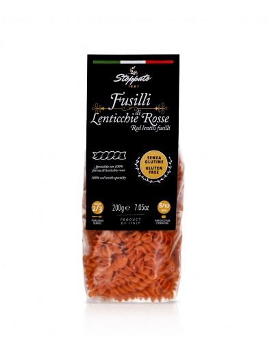 Fusilli di lenticchie rosse 200 g