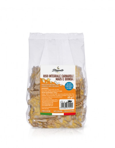 Chips con mais e quinoa 60 g